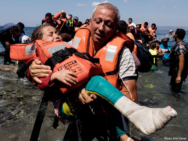 Join the Jewish response to the global refugee crisis (photo: Enri Canaj)